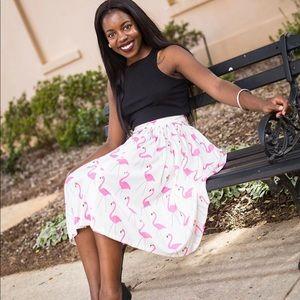 Dresses & Skirts - Flamingo A-line Skirt